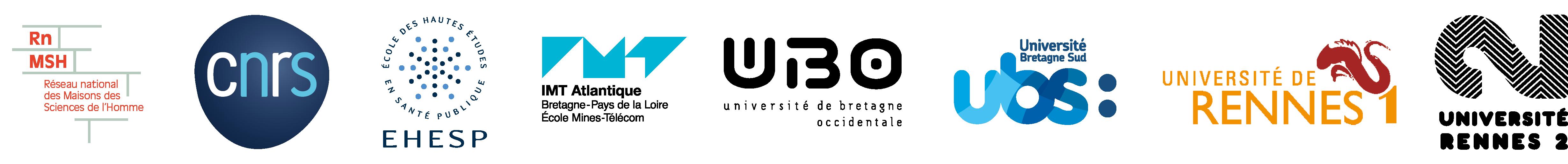 Logos fondateurs MSHB